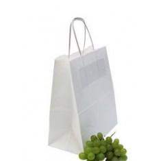 Пакет бумажный 22*25*12см белый