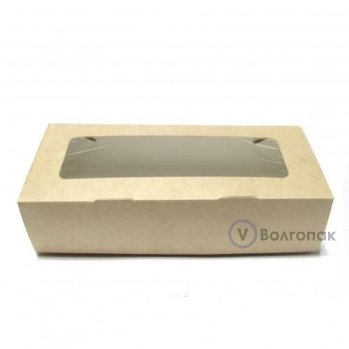 Коробка с окном 17х7х4 см