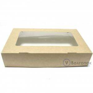 Коробка с окном 20х12х4 см