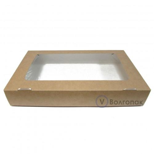 Коробка с окном 26х15х4 см