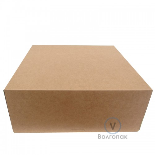 Коробка для торта 25,5х25,5х10,5 см