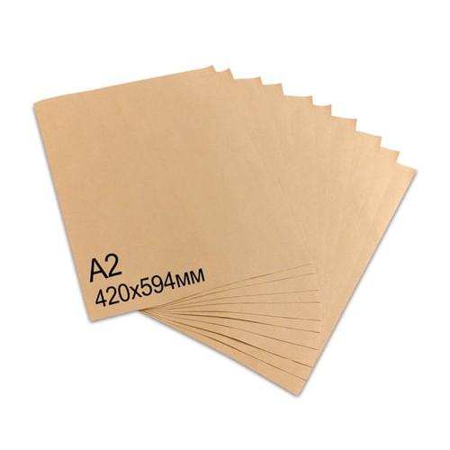 Бумага упаковочная крафт 42*59,4 см